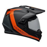 Bell MX-9 Adventure Mips Switchback Helmet (Black|Orange)