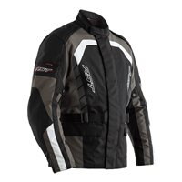 RST Alpha IV CE Textile Motorcycle Jacket 2726 (Black|Gunmetal)
