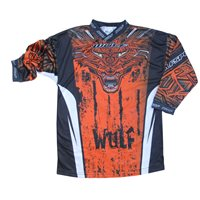 Wulfsport Aztec Cub Race Shirts (Orange)