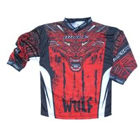Wulfsport Aztec Cub Race Shirts (Red)