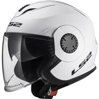 LS2 OF570 Verso Open Face Helmet (White)
