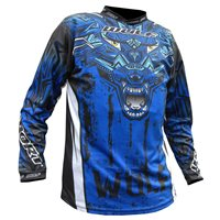 Wulfsport Aztec Race Shirt (Blue)
