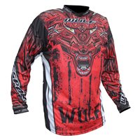 Wulfsport Aztec Race Shirt (Red)