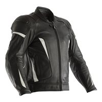 RST GT CE Leather Jacket 2190 (Black|White)