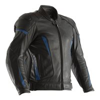 RST GT CE Leather Jacket 2190 (Black|Blue)