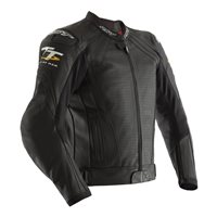 RST IOM TT Grandstand CE Leather Jacket 2235 (Black)