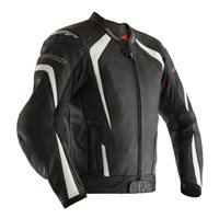 RST R-Sport CE Leather Jacket 2255 (Black|White)