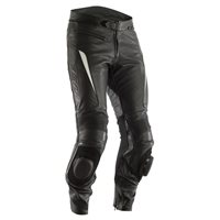 RST GT CE Leather Trousers 2291 (Black|White)