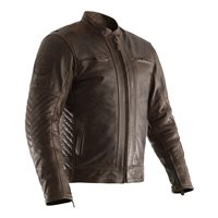 RST Classic TT Retro II CE Leather Jacket 2834 (Brown)