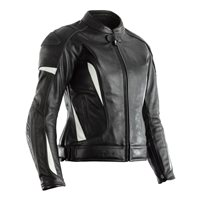 RST Ladies GT CE Leather Jacket 2130 (Black|White)