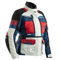 RST Pro Series Adventure Ladies CE Jacket 2246 (Ice Blue|Red)