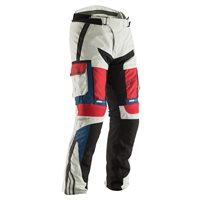 RST Pro Series Adventure Ladies CE Textile Trousers 2254 (Ice Blue|Red)