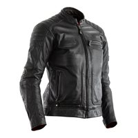 RST Roadster II CE Ladies Leather Jacket 2228 (Black)