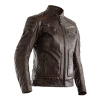 RST Roadster II CE Ladies Leather Jacket 2228 (Brown)