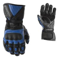RST GT CE Motorcycle Gloves 2151 (Black|Blue)