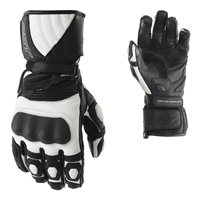 RST GT CE Motorcycle Gloves 2151 (Black|White)