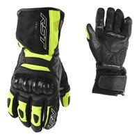 RST Rallye CE Motorcycle Glove 2134 (Black|Flo Yellow)