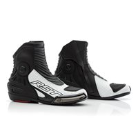 RST Tractech Evo 3 Short CE Motorcycle Boot 2341 (White|Black)