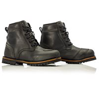 Roadster CE Waterproof Boots 2146 (Oily Black) by RST