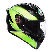 AGV K1 Qualify Motorcycle Helmet (Black|Lime)