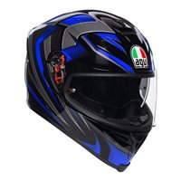 AGV K5-S Hurricane 2.0 Helmet (Black|Blue)
