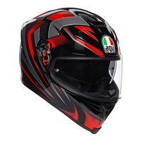 AGV K5-S Hurricane 2.0 Helmet (Black|Red)