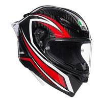 AGV Pista GP-R Staccata Helmet (Carbon|Red)