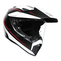 AGV AX9 Pacific Road Helmet (Matt Black|White|Red)