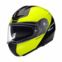 Schuberth C3 Pro Split Yellow Flip Front Helmet (Black|Yellow)
