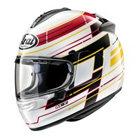 Arai Chaser-X Striker Motorcycle Helmet (White)
