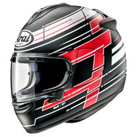 Arai Chaser-X Striker Motorcycle Helmet (Black)
