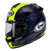 Arai Debut Blast Yellow Motorcycle Helmet