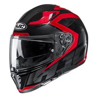 HJC I70 Asto Motorcycle Helmet (Red)