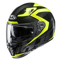 HJC I70 Asto Motorcycle Helmet (White|Green)