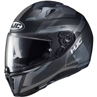 HJC I70 Elim Motorcycle Helmet (Black|Grey)