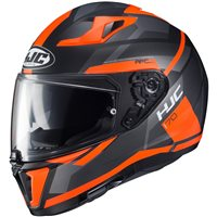 HJC I70 Elim Motorcycle Helmet (Orange|Black)