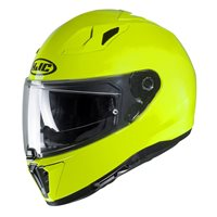 HJC I70 Fluo Yellow Motorcycle Helmet