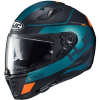 HJC I70 Karon Motorcycle Helmet (Black|Green|Orange)