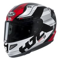 HJC RPHA 11 Naxos Red Motorcycle Helmet (Red|White)