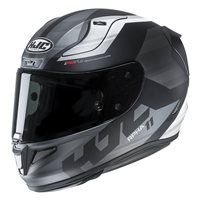 HJC RPHA 11 Naxos Black Motorcycle Helmet (Black|Grey)