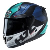 HJC RPHA 11 Naxos Blue Motorcycle Helmet (Blue|Green)