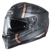 HJC RPHA 70 Gaon Motorcycle Helmet (Gold Brown|Silver)