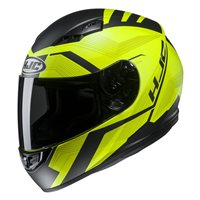 HJC CS-15 Faren Fluo Yellow Motorcycle Helmet