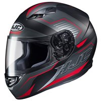 HJC CS-15 Trion Red Motorcycle Helmet