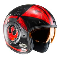 HJC FG-70s Poe Dameron Open Faced Helmet (Red|Black)