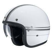 HJC FG-70s Ladon White Open Faced Helmet
