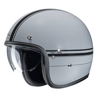 HJC FG-70s Ladon Grey & Black Open Faced Helmet