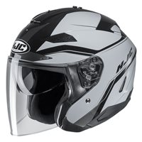 HJC IS-33 II Korba Black Open Face Helmet