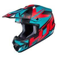 HJC CS-MX II Madax Moto-X Helmet (Red|White|Blue)