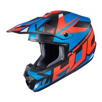HJC CS-MX II Madax Moto-X Helmet (Black|Blue)